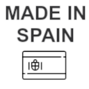 Designed and manufactured in Spain